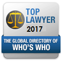 Image of Top Lawyer 2017 - Samuel Erkonen is one of Plainfields top family law lawyers